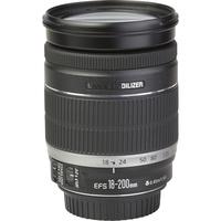 Canon EOS 800D + EF-S 18-200 mm IS - Vue de l'objectif