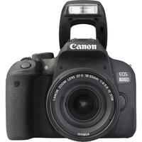 Canon EOS 800D + EF-S 18-55 mm F4-5,6 IS STM - Vue de face