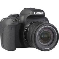 Canon EOS 800D + EF-S 18-55 mm F4-5,6 IS STM - Vue de 3/4 vers la droite