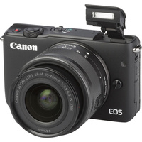 Canon EOS M10 + EF-M 15-45 mm IS STM 								- Vue principale