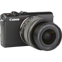 Canon EOS M100 + EF-M 15-45 mm IS STM - Vue de 3/4 vers la droite