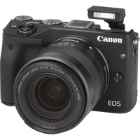 Canon EOS M3 + EF-M 18-55 mm IS STM - Vue principale
