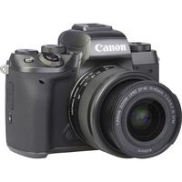Canon EOS M5 + EF-M 15-45 mm IS STM - Vue de l'objectif
