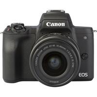 Canon EOS M50 + EF-M 15-45 mm IS STM - Autre vue de face