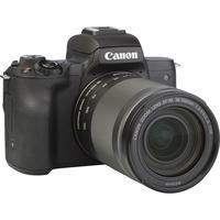 Canon EOS M50 + EF-M 18-150 mm IS STM - Vue de 3/4 vers la droite