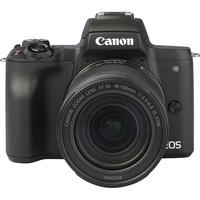 Canon EOS M50 + EF-M 18-150 mm IS STM - Autre vue de face