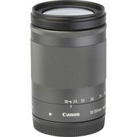Canon EOS M50 + EF-M 18-150 mm IS STM - Vue de l'objectif