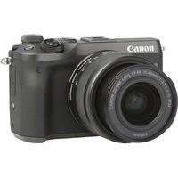 Canon EOS M6 + EF-M 15-45 mm IS STM - Vue de 3/4 vers la droite