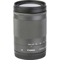 Canon EOS M6 + EF-M 18-150 mm IS STM - Vue de l'objectif