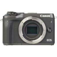Canon EOS M6 + EF-M 18-150 mm IS STM - Vue de face sans objectif