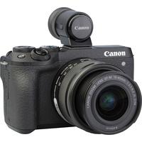 Canon EOS M6 Mark II + EF-M 15-45 mm IS STM - Vue de 3/4 vers la droite