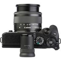 Canon EOS M6 Mark II + EF-M 15-45 mm IS STM - Vue du dessus