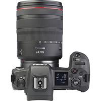 Canon EOS R + RF 24-105 mm L IS USM - Vue du dessus
