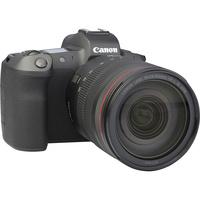 Canon EOS R + RF 24-105 mm L IS USM - Vue de 3/4 vers la droite
