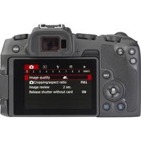 Canon EOS RP + RF 24-105 mm L IS USM - Vue de dos
