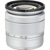 Fujifilm X-A2 + Fujinon Super EBC XC 16-50 mm OIS II - Vue du dessus