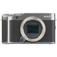 Fujifilm X-A7 + Fujinon Super EBC XC 15-45 mm OIS PZ - Vue de face sans objectif