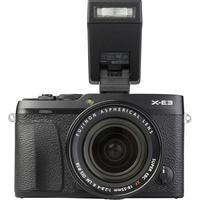 Fujifilm X-E3 + Fujinon Super EBC XF 18-55 mm R LM OIS - Vue de face