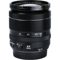 Fujifilm X-E3 + Fujinon Super EBC XF 18-55 mm R LM OIS - Vue de l'objectif