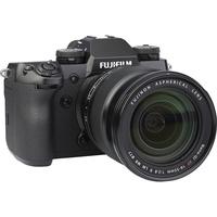 Fujifilm X-H1 + Fujinon Nano-Gl XF 16-55 mm R LM WR - Vue de 3/4 vers la droite