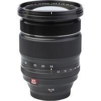 Fujifilm X-H1 + Fujinon Nano-Gl XF 16-55 mm R LM WR - Vue de l'objectif