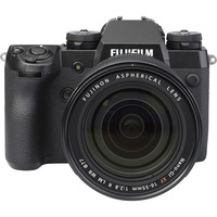 Fujifilm X-H1 + Fujinon Nano-Gl XF 16-55 mm R LM WR - Autre vue de face