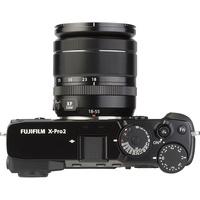 Fujifilm X-Pro2 + Fujinon Super EBC XF 18-55 mm R LM OIS - Vue de 3/4 vers la droite