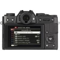 Fujifilm X-T 10 + Fujinon Super EBC XC 16-50 mm OIS II - Vue de face sans objectif