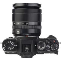 Fujifilm X-T 10 + Fujinon Super EBC XF 18-55 mm R LM OIS - Vue de l'objectif