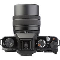 Fujifilm X-T100 + Fujinon Super EBC XC 15-45 mm OIS PZ - Vue du dessus