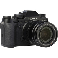 Fujifilm X-T2 + Fujinon Super EBC XF 18-55 mm R LM OIS - Vue de l'objectif