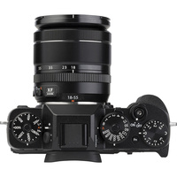Fujifilm X-T2 + Fujinon Super EBC XF 18-55 mm R LM OIS - Vue de face sans objectif
