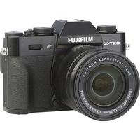 Fujifilm X-T20 + Fujinon Super EBC XC 16-50 mm OIS II - Vue de 3/4 vers la droite