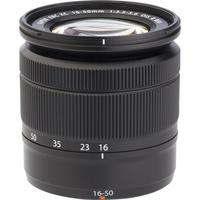 Fujifilm X-T20 + Fujinon Super EBC XC 16-50 mm OIS II - Vue de l'objectif