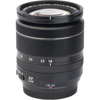 Fujifilm X-T20 + Fujinon Super EBC XF 18-55 mm R LM OIS - Vue de l'objectif