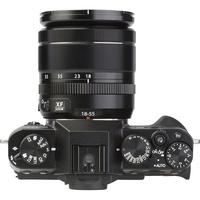 Fujifilm X-T20 + Fujinon Super EBC XF 18-55 mm R LM OIS - Vue du dessus