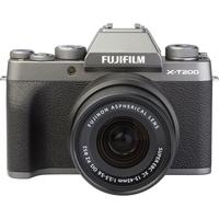 Fujifilm X-T200 + Fujinon Super EBC XC 15-45 mm OIS PZ - Vue de face