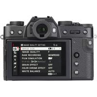 Fujifilm X-T30 + Fujinon Super EBC XF 18-55 mm R LM OIS - Vue de dos