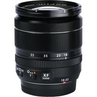Fujifilm X-T30 + Fujinon Super EBC XF 18-55 mm R LM OIS - Vue de l'objectif