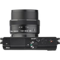 Nikon 1 J4 + 1 Nikkor VR 10-30 mm PD-Zoom - Vue de l'objectif