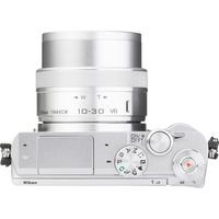 Nikon 1 J5 + 1 Nikkor VR 10-30 mm ED IF PD-Zoom - Vue du dessus