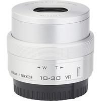 Nikon 1 J5 + 1 Nikkor VR 10-30 mm ED IF PD-Zoom - Vue de 3/4 vers la droite