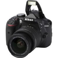 Nikon D3400 + AF-P DX Nikkor 18-55 mm G VR - Vue principale