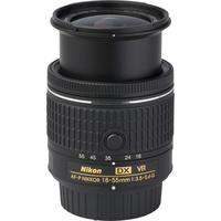 Nikon D3400 + AF-P DX Nikkor 18-55 mm G VR - Vue de l'objectif