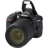 Nikon D3400 + AF-S DX Nikkor 18-105 mm G ED VR - Vue principale