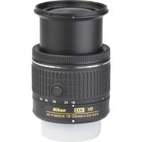 Nikon D3500 + AF-P DX Nikkor 18-55 mm G VR - Vue de l'objectif