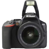 Nikon D3500 + AF-P DX Nikkor 18-55 mm G VR - Vue de face
