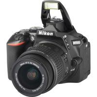 Nikon D5500 + AF-S DX Nikkor 18-55 mm G VR II - Vue principale