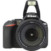 Nikon D5600 + AF-S DX Nikkor 18-140 mm G ED VR - Vue du dessus