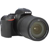 Nikon D5600 + AF-S DX Nikkor 18-140 mm G ED VR - Vue de l'objectif